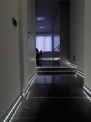 Progress led skirting metro tiles - Led skirting board lighting ...