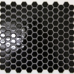Black Hexagon Mosaic